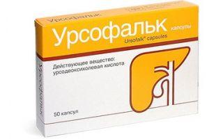 Урсосан состав препарата