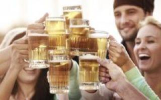 Как влияет пиво на печень