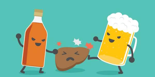 алкогольное поражение печени