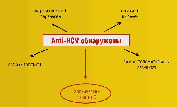 Диагностика гепатита С, анти-HCV