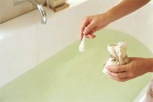 Прием ванн с сульфатом магния