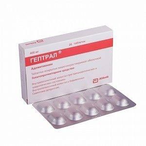 гепатопротектор с антидепрессивным действием