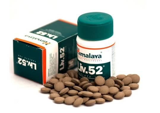 Пузырек и таблетки Лив-55