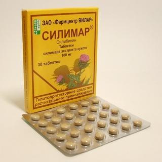 Расторопша в таблетках