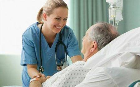 Сиделка в больнице