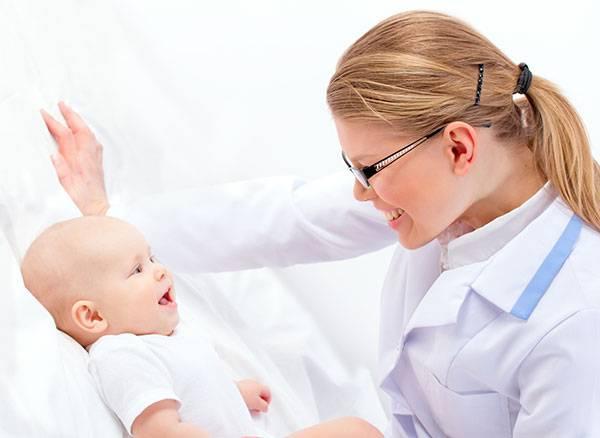 Увеличение печени у грудного ребенка