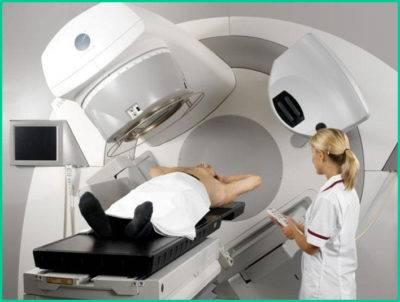 При диагнозе опухоль печени лучевое лечение не проводится