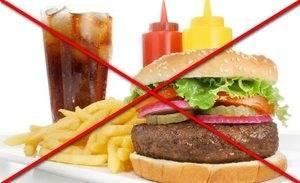 Запрещенные продукты при холецистэктомии