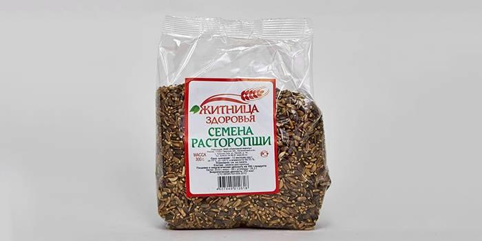 Семена расторопши для народного лечения печени