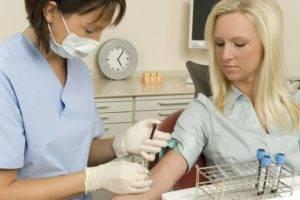 Процедура забора крови