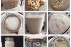 Этапы приготовления киселя из кваса
