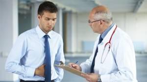 Разговор пациента с врачом