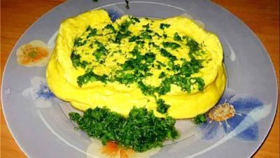 Паровой омлет - полезное блюдо