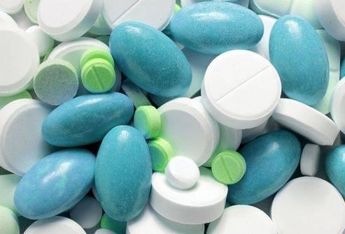 Лекарства разной формы выпуска