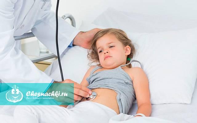 Загиб желчного пузыря у детей