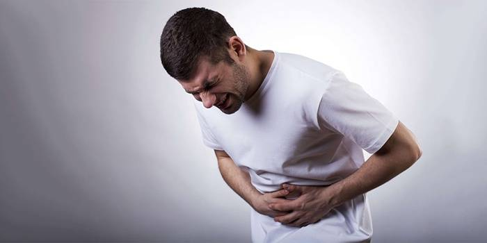 У мужчины заболевание поджелудочной железы