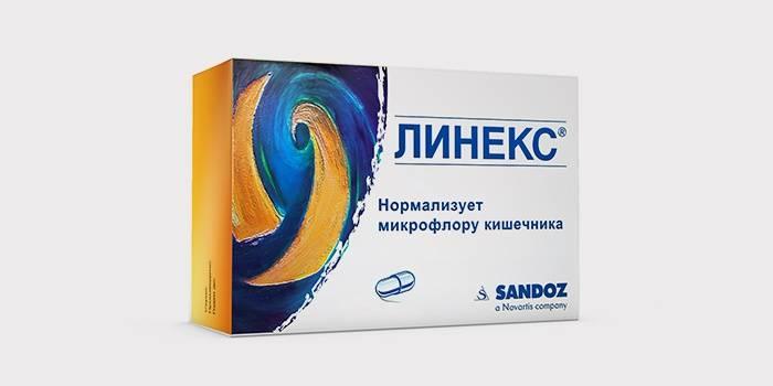 Линекс для восстановления кишечной микрофлоры