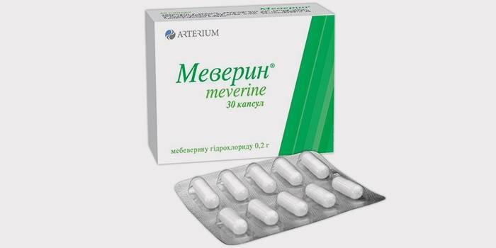 Мебеверин для лечения поджелудочной железы