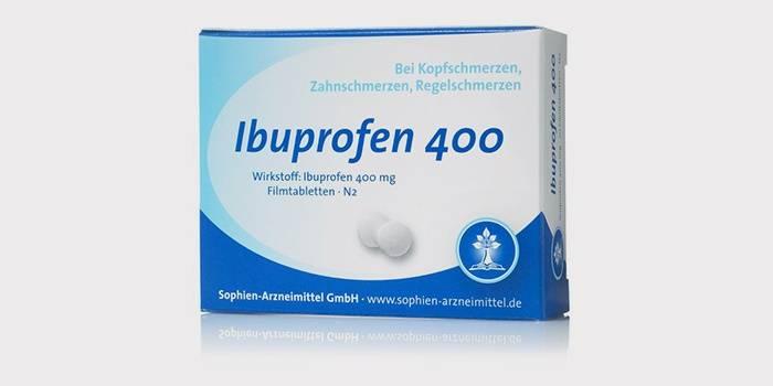 Ибупрофен для поджелудочной железы