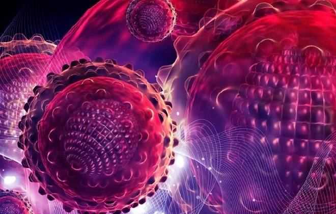 Вирусная молекула заболевания