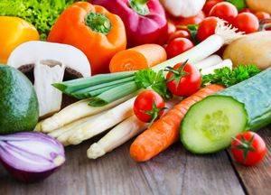 Перечень рекомендуемых овощей при желчнокаменной болезни