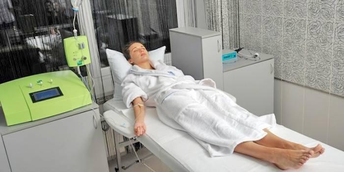 Аутогемоозонотерапия для лечения гепатоза печени