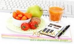 Суточный рацион при диете №5