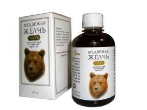 применение медвежьей желчи в лечебных целях