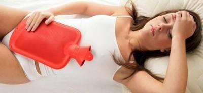 тяжесть в подреберье при менструации
